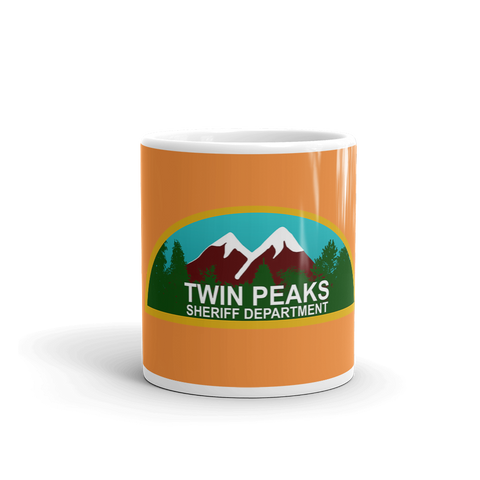 Twin Peaks Sheriff Department Mug - Replica Prop Store  - 1