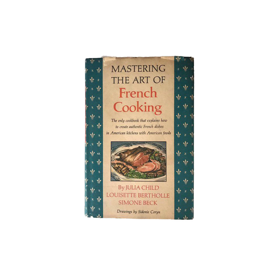 Mastering The Art Of French Cooking Vintage Book Julie & Julia