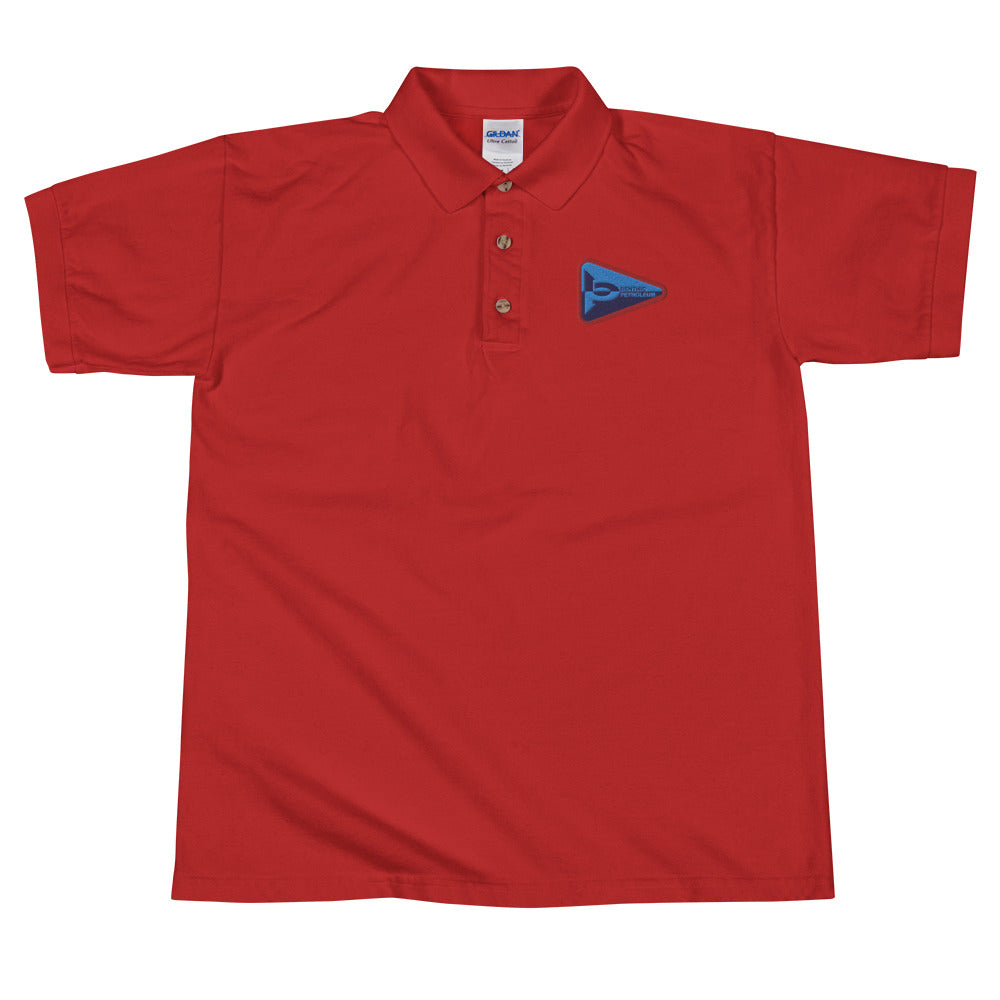 Benthic Petroleum Embroidered Polo Shirt