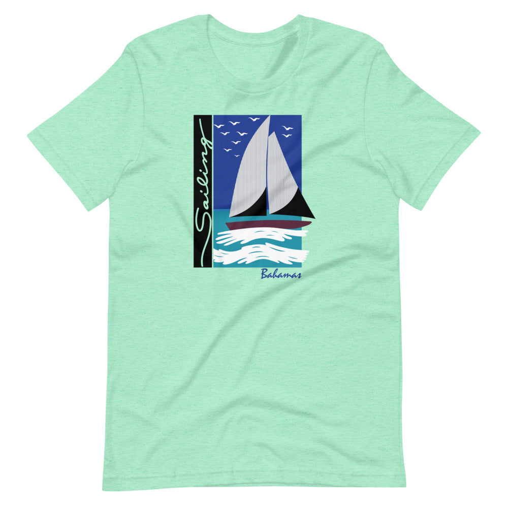 Sailing Bahamas Unisex T-Shirt Step Brothers