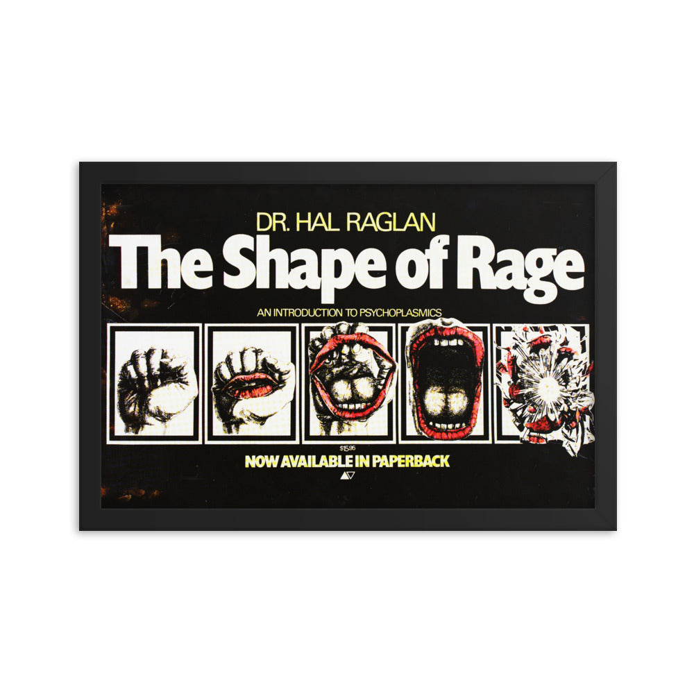 The Shape Of Rage Framed Poster The Brood