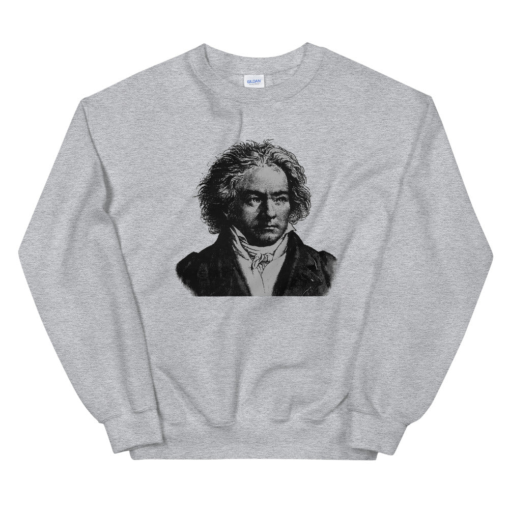 Beethoven Unisex Sweatshirt Made In USA