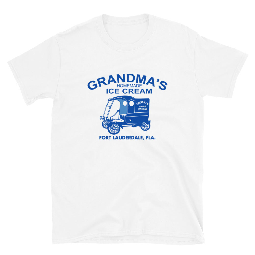 Grandma's Homemade Ice Cream Unisex T-Shirt Pari E Dispari