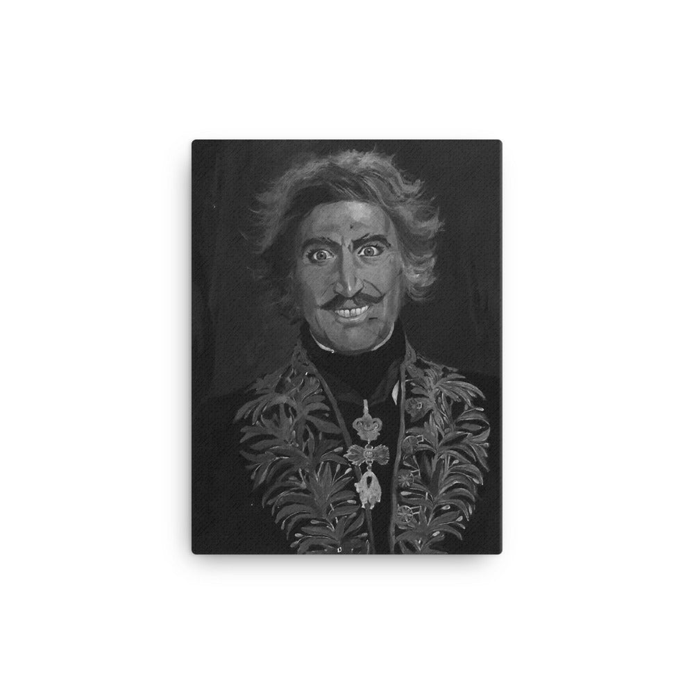 Young Frankenstein Smiling Painting Canvas