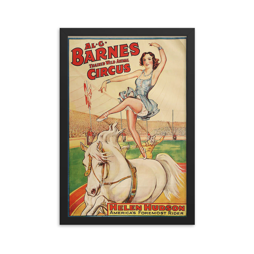 Barnes Circus Framed Poster Sleepless In Seattle