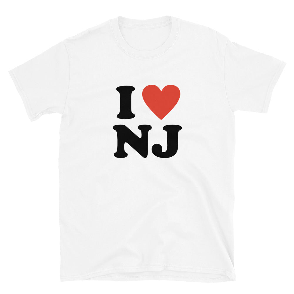 I Love New Jersey Unisex T-Shirt