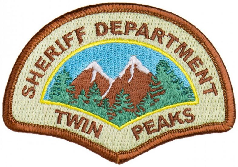 Twin Peaks Sheriff Department Patch