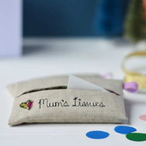 Mum's Tissue Holder Stocking Filler Gift
