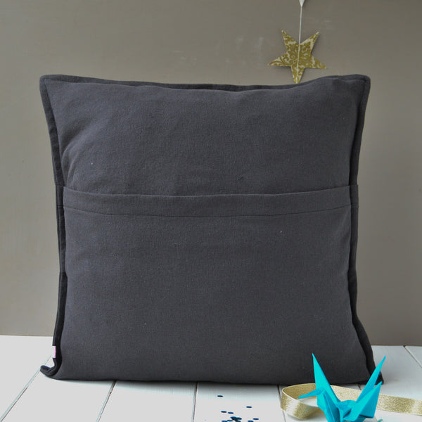 Letter To Santa Personalised Cushion - Handmade Poshyarns