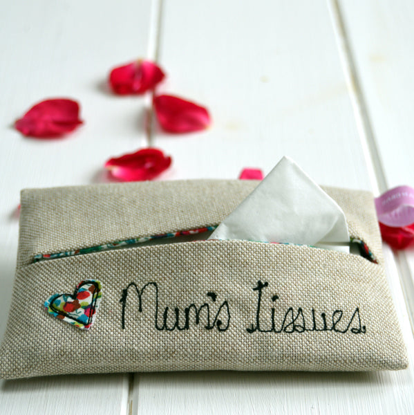 Mum's Tissue Holder - Handmade Poshyarns