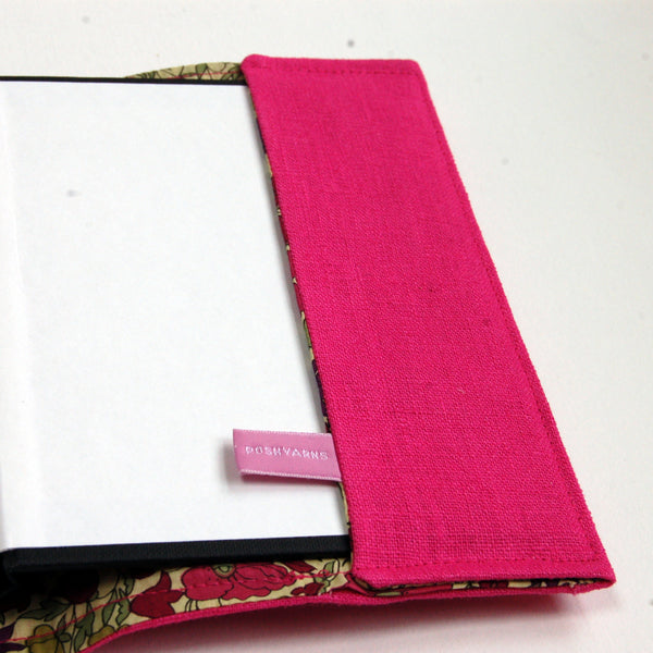 Personalised Pink Teacher Notebook - Handmade Poshyarns