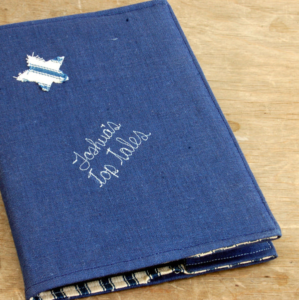Top Tales Notebook - Handmade Poshyarns