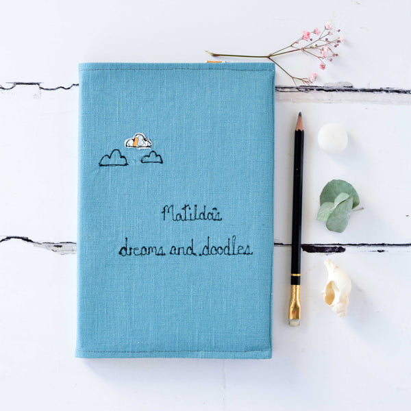 Dreams And Doodles Journal - Handmade Poshyarns
