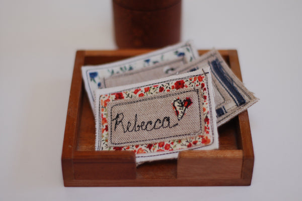 Embroidered Name Badge