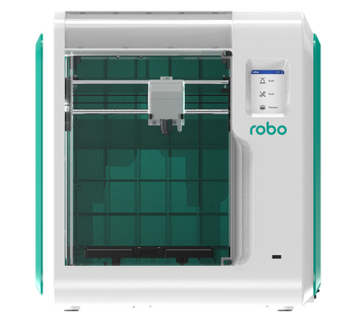 Robo E3 3D Printer with 2 year warranty Included - 3D Brain Lab