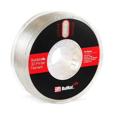 BuMat Elite Nylon (PA) Filament - Natural Color - 1.75 MM - 3D Brain Lab