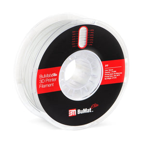 BuMat Elite Polypropylene (PP) Filament - Natural Color - 1.75 MM (0.75 KG) - 3D Brain Lab