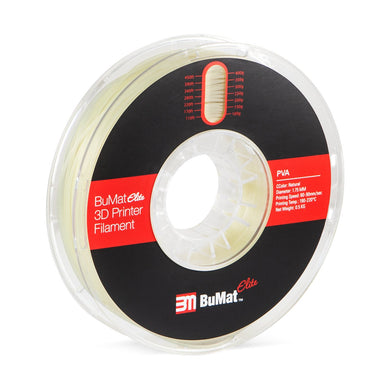 BuMat Elite PVA Filament - Natural Color - 1.75 MM (0.5 KG) - 3D Brain Lab