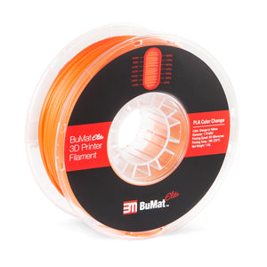 BuMat Elite Color Change By Temperture Filament  - 1.75 MM - 3D Brain Lab