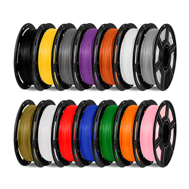 FlashForge PLA 1.75 mm, 0.5 kg Filament Spool. D-Series- Compatible with Finder, Adventurer, Dreamer, Inventor - 3D Brain Lab