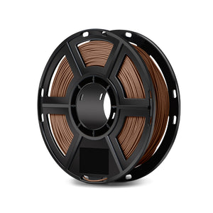 FlashForge D-Series Wood Filament -1.75 MM (0.5 KG)- D-Series Compatible with Flashforge finder, Dreamer, Inventor Series, and Adventurer Series - 3D Brain Lab