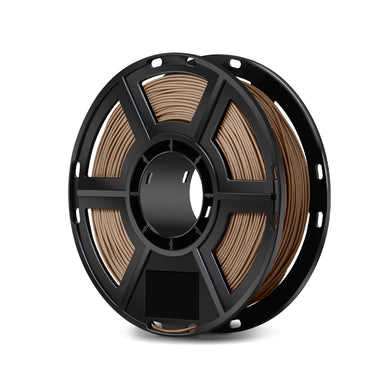 FlashForge D-Series Wood Filament -1.75 MM (0.5 KG)- D-Series Compatible with Flashforge finder, Dreamer, Inventor Series, and Adventurer Series