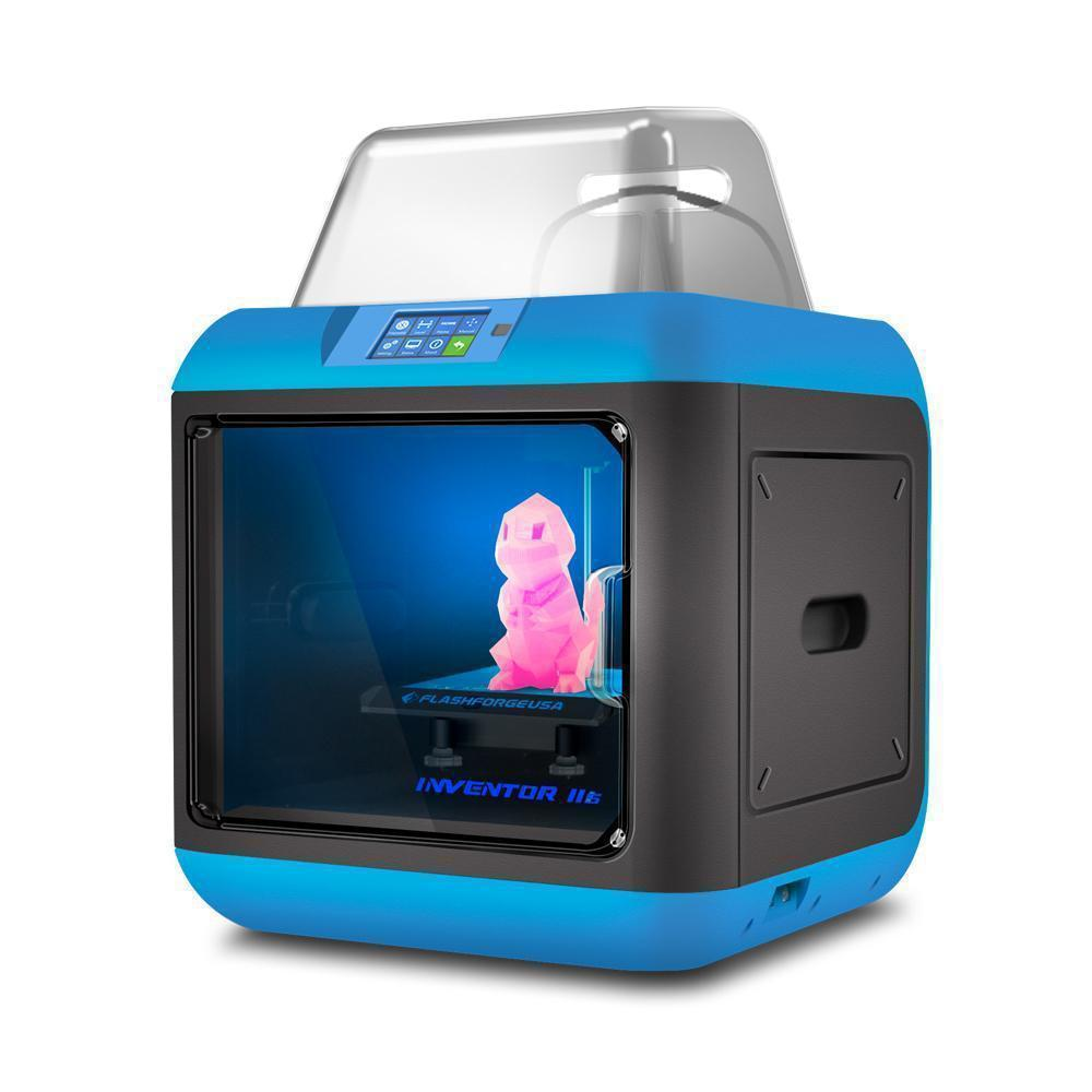 FlashForge Inventor 2S 3D Printer + 3D Printing Curriculum + 12 months ProCare Warranty - 3D Brain Lab