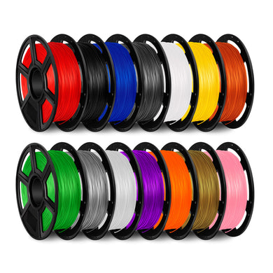 FlashForge PLA 1.75 mm, 1 kg Filament Spool. Compatible with Flashforge Creator, Guider II and IIS, and all other 1.75 mm 3D printer models
