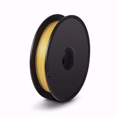 FlashForge D-Series PVA Filament - Natural  Color - 1.75 MM (0.5 KG) Fits the Following FlashForge Printer Models: Dreamer, Inventor - 3D Brain Lab