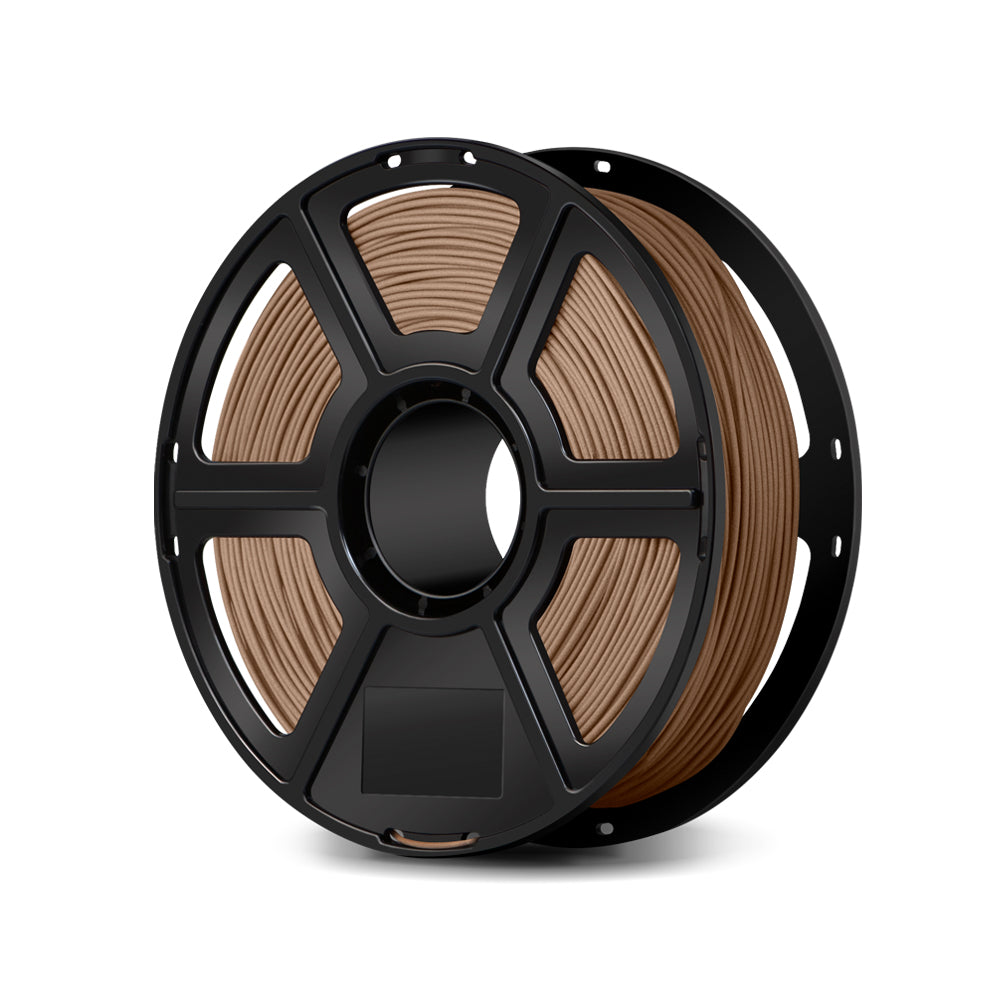 FlashForge Wood Filament -1.75 MM Compatible with Creator and Guider II series and all other 1.75 mm 3D Printer Brands