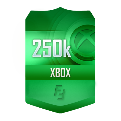 250k FUT17 XboxOne Auction Coins