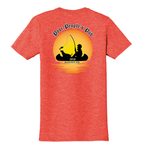 People's Pub 2019 Summer T-Shirt in Heather Orange