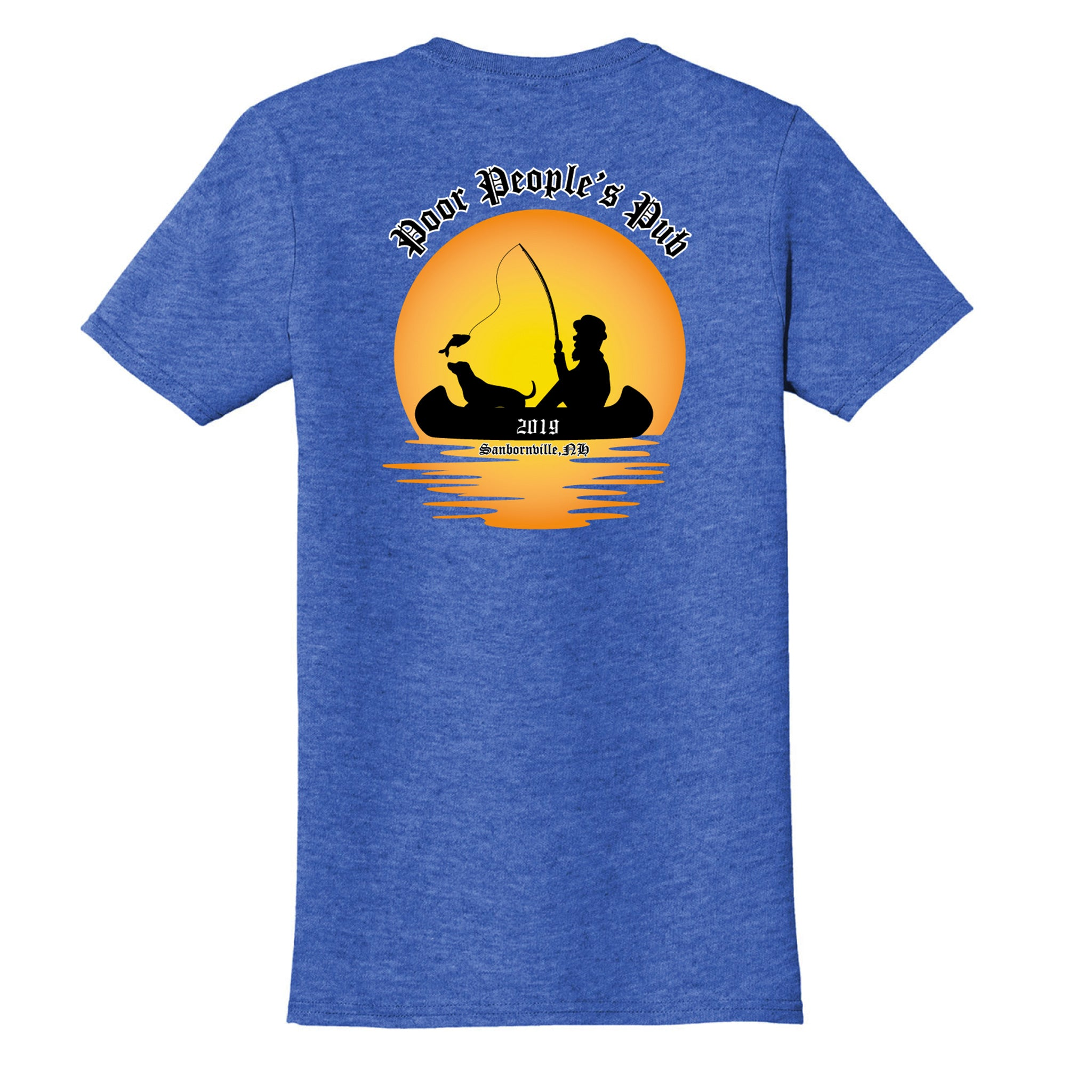 People's Pub 2019 Summer T-Shirt in Heather Royal Blue