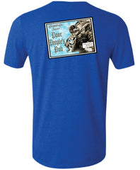 "People's Pub 2004 ""Old Man"" T-Shirt in Heather Royal Blue"