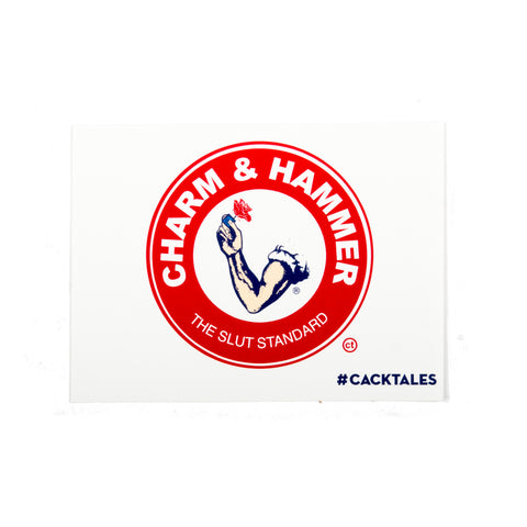 Charm & Hammer Sticker
