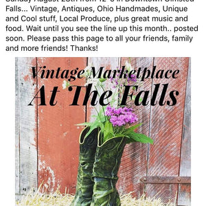Sunday August 28th Indoor/ Outdoor Market Shopping