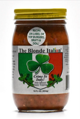 Picture of a jar of Crime in Italy sauce