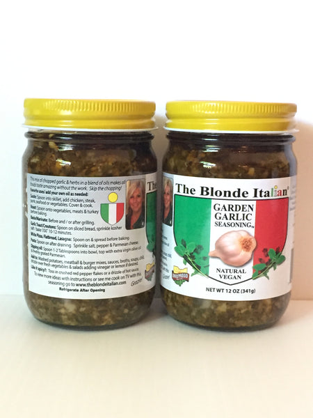 2 Jars of Garden Garlic Seasoning