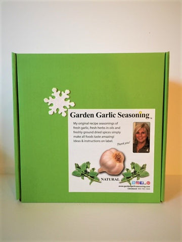 Garden Garlic Seasoning Collection Gift Box / free shipping extended through January