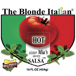 Sister's Mia Savory Salsa (Hot)/ temporarily SOLD OUT online