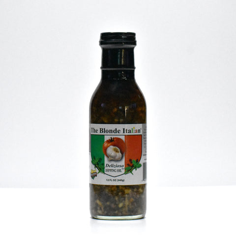 Delizioso Dipping Oil - 12 oz. / 2 Bottle Set /shipping included SOLD OUT ONLINE BUT AVAIL AT REGO'S LAKE ROAD MARKET ROCKY RIVER, Romano's North Royalton AND MILES MARKET SOLON