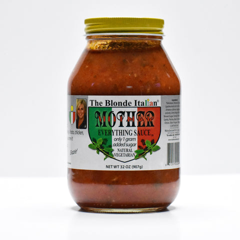 Sauce Mother Everything Sauce 32 oz 4 JAR SET / SHIPPING INCLUDED IN PRICE