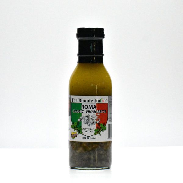 Bottle of Roma classic vinaigrette