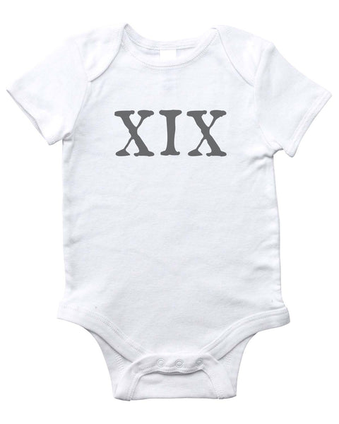 19TH AMENDMENT Onesie (White)