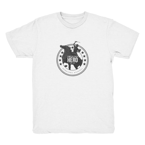 AMERICAN HERO T-Shirt (Youth - White)