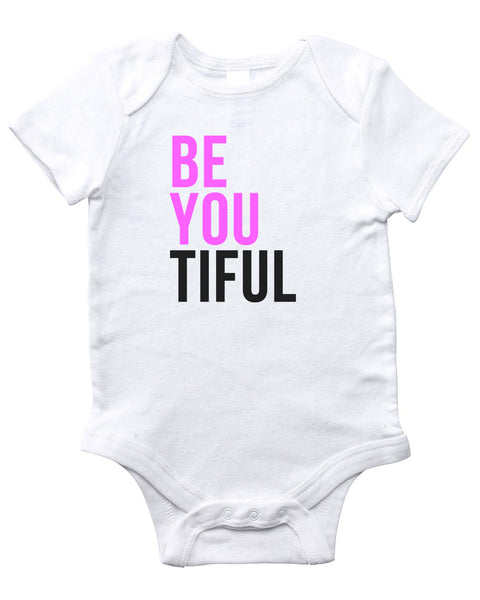 BEYOUTIFUL Onesie (White)