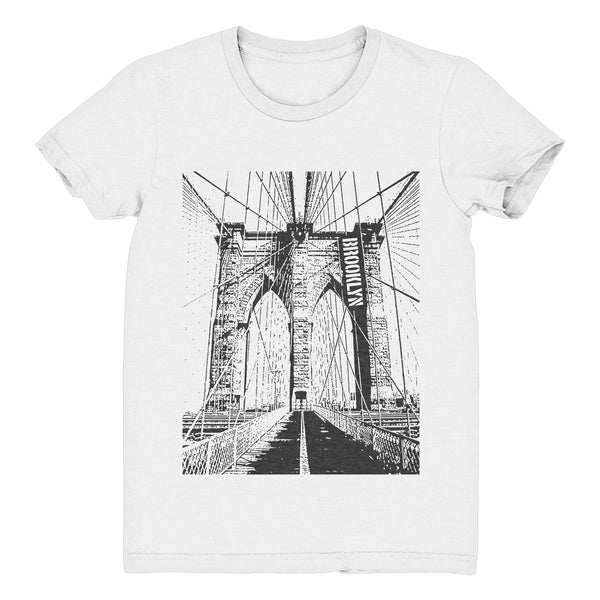 BROOKLYN Unisex T-Shirt (White Slub)