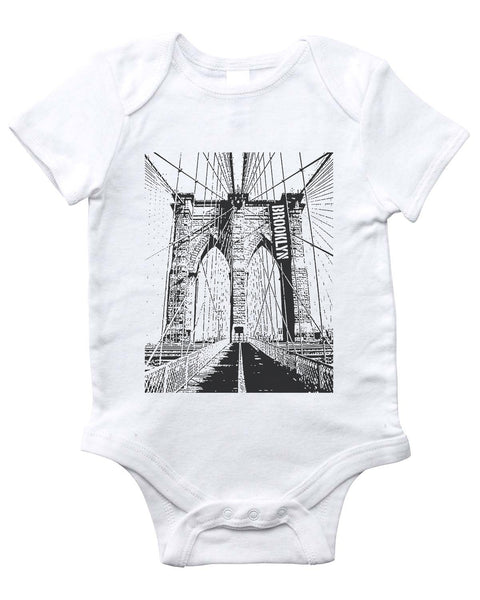 BROOKLYN Onesie (White)