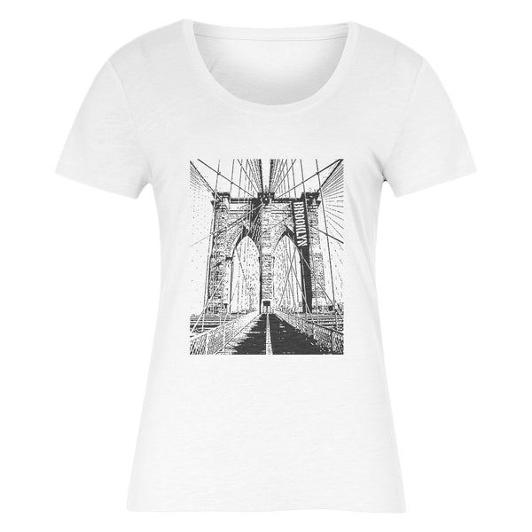 BROOKLYN Women's T-Shirt (White)