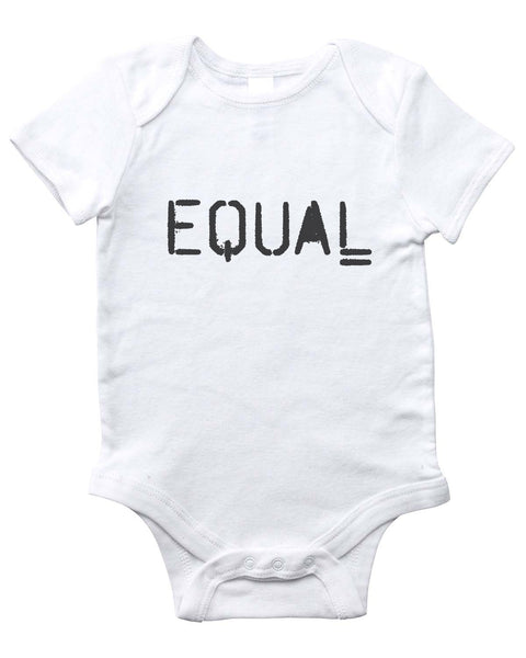 EQUAL Onesie (White)